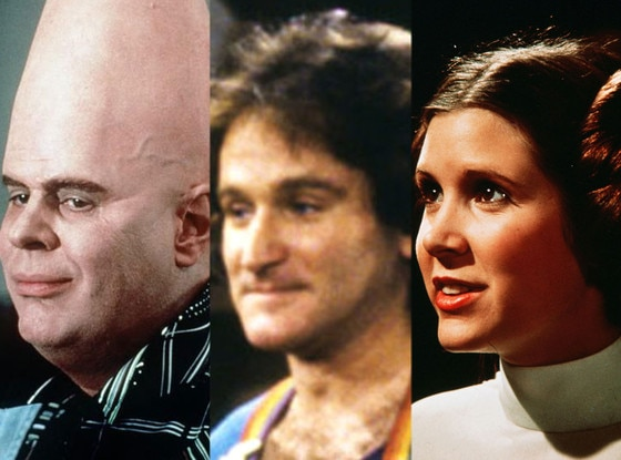 Conehead, Mork, Princess Leia