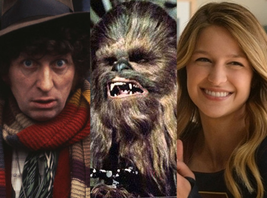 Doctor Who, Chewbacca, Supergirl