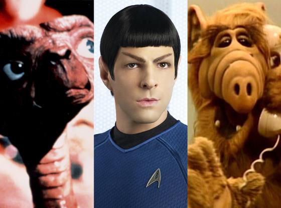 E.T., Spok, Alf