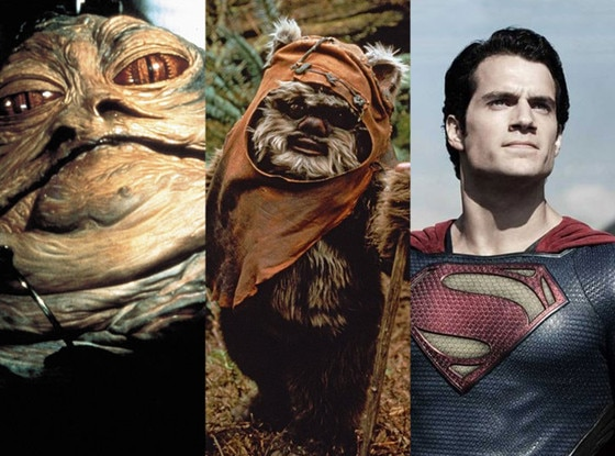 Jabba The Hut, Ewok, Superman