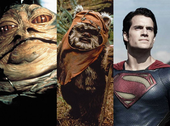 Jabba The Hut, Ewok, Superman
