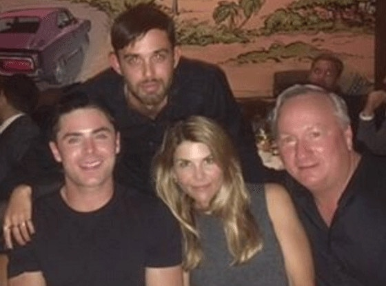 Lori Loughlin, Zac Efron, Instagram
