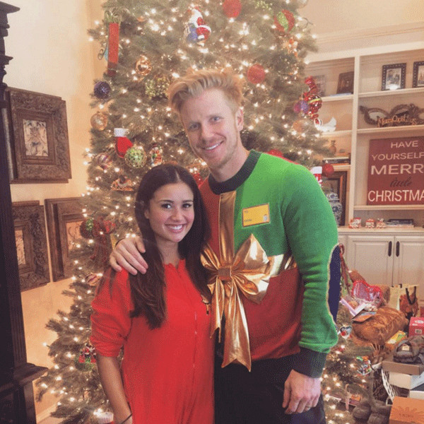 Sean Lowe From Stars In Ugly Holiday Sweaters E News