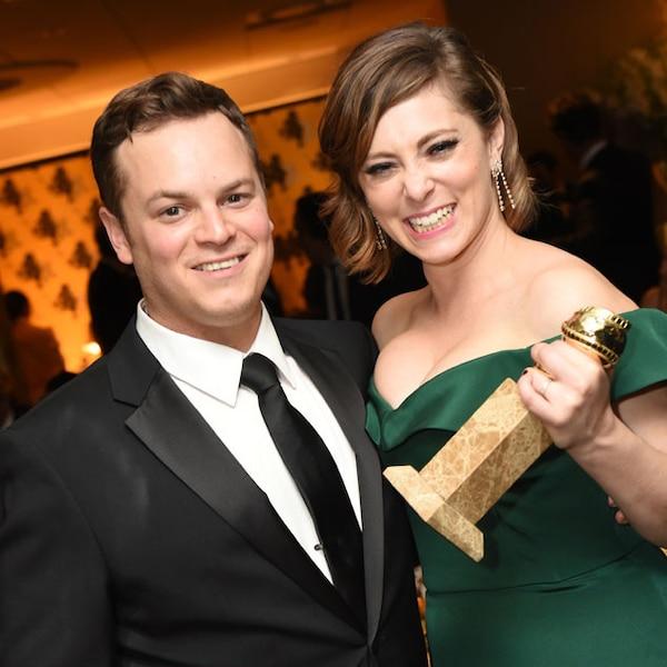 Dan Gregor Amp Rachel Bloom From 2016 Golden Globes Party