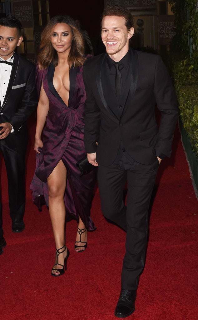 Naya Rivera, Ryan Dorsey, Golden Globe After Party
