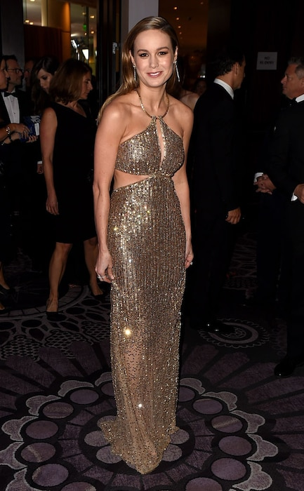 Brie Larson, Golden Globe After Party