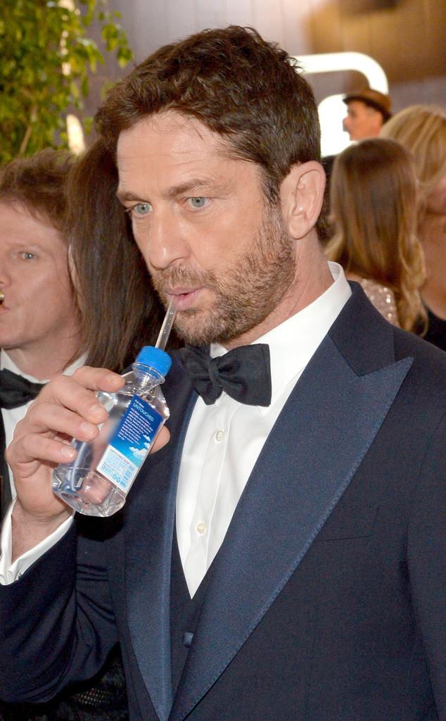 Golden Globe Awards Water, Gerard Butler