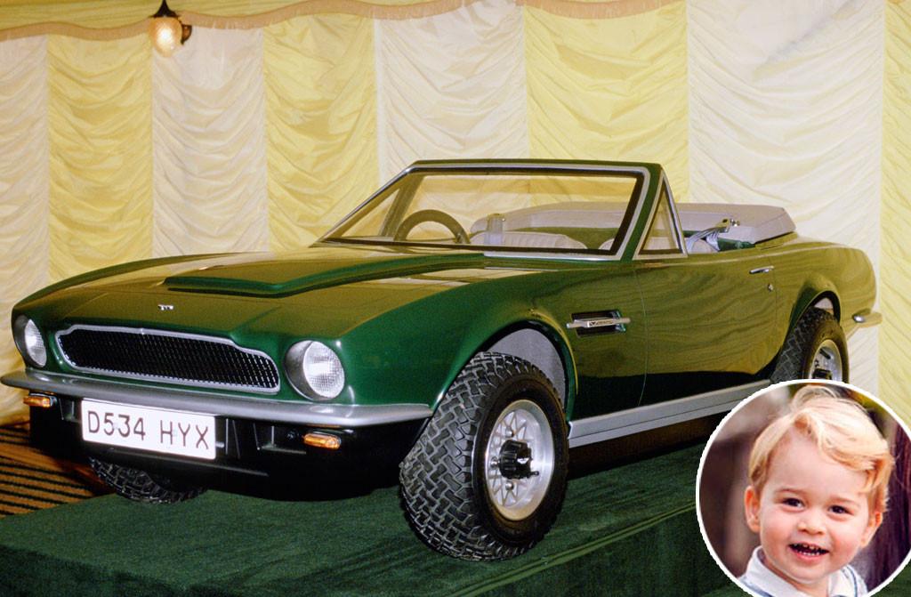 Prince George, Aston Martin Inheritance