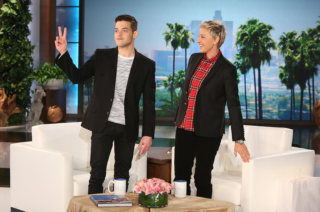 Rami Malek, The Ellen DeGeneres Show