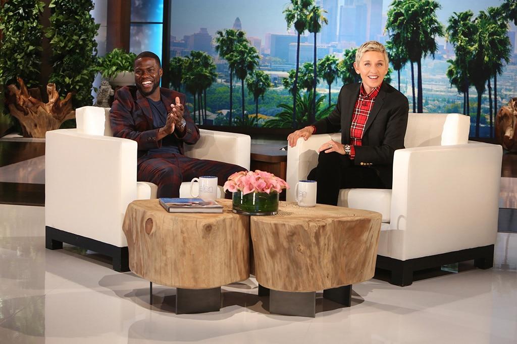 Kevin Hart, The Ellen DeGeneres Show