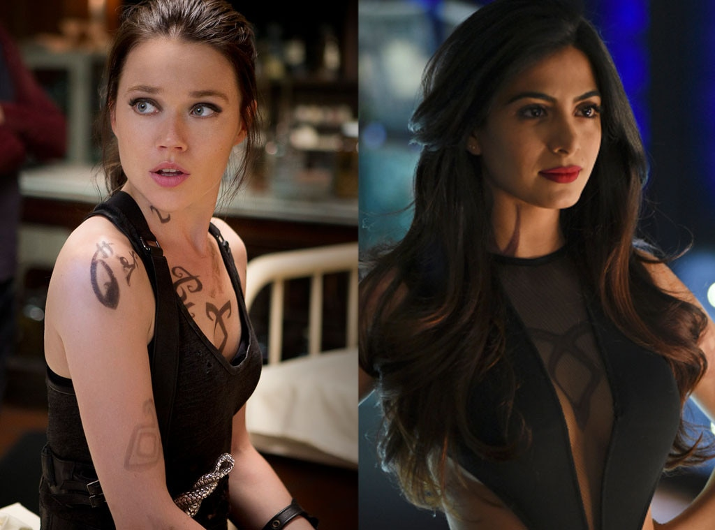Mortal Instruments vs Shadowhunters, Jemima West, Emeraude Toubia