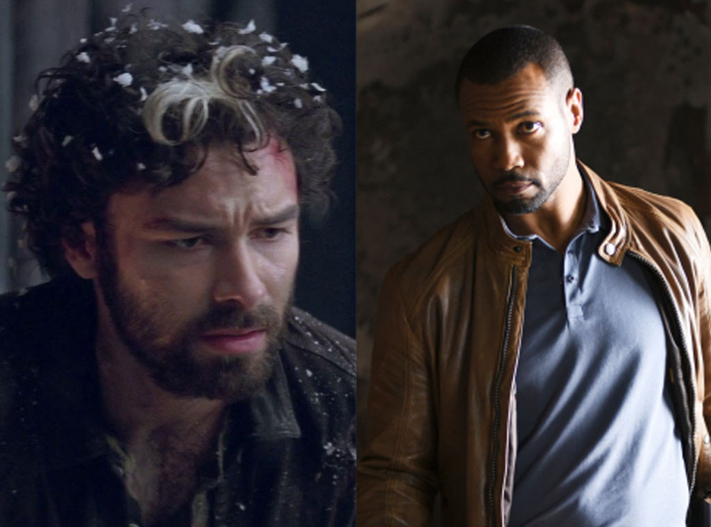 Mortal Instruments vs Shadowhunters, Aidan Turner, Isaiah Mustafa