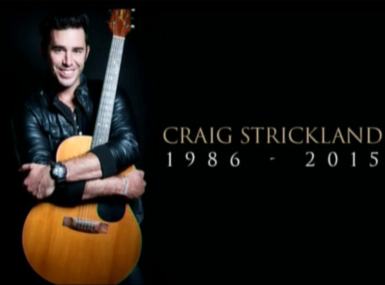 Craig Strickland, Funeral