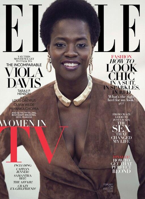 Elle Magazine, Viola Davis