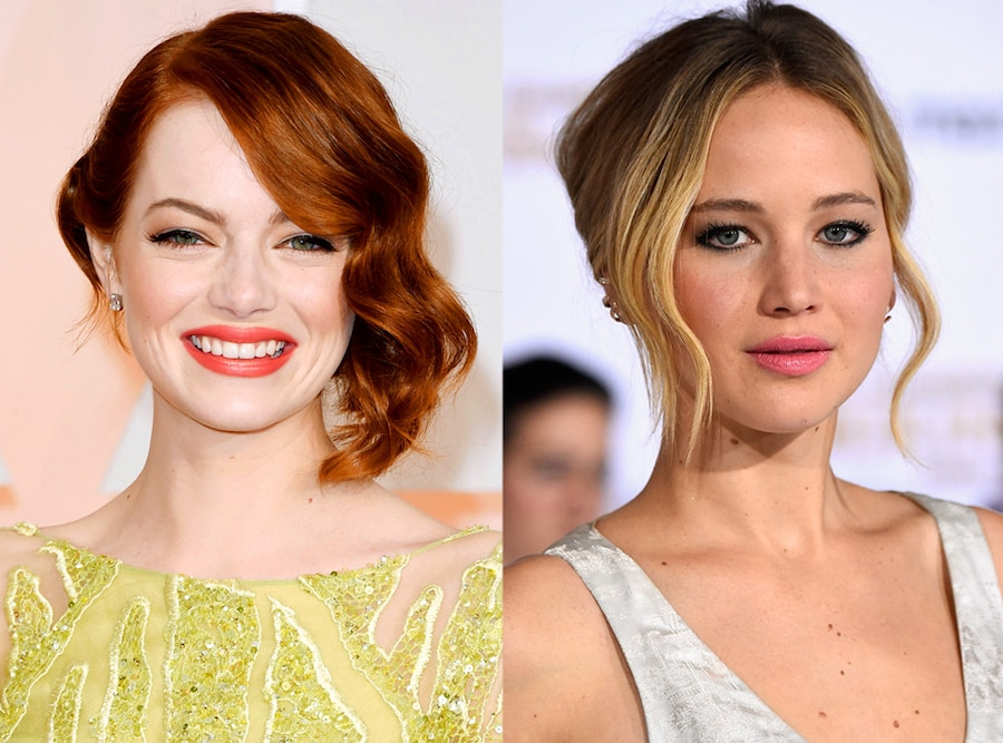 Emma Stone, Jennifer Lawrence, Lip Sync Battle