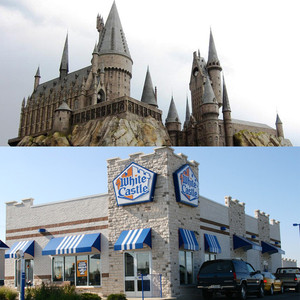 Hogwarts Castle, White Castle