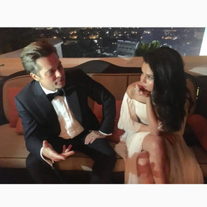 Selena Gomez, Brad Pitt, Instagram