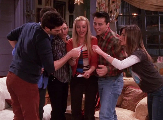 Friends, Lottery Episode