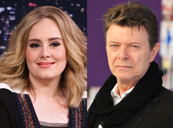 David Bowie, Adele