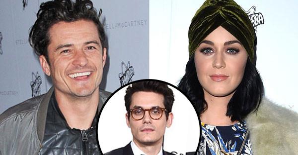 Katy Perry, Orlando Bloom, John Mayer