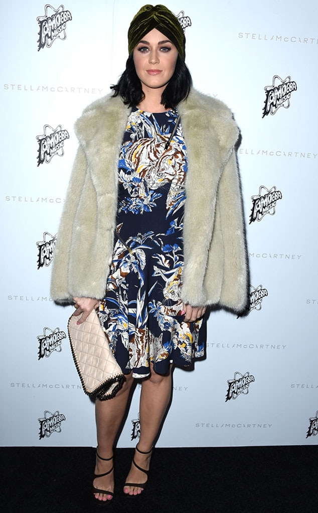 Katy Perry, Stella McCartney Autumn 2016 Presentation