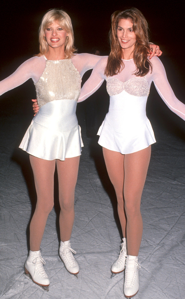 Cindy Crawford Amp Linda Evangelista Are Gorgeous Ice