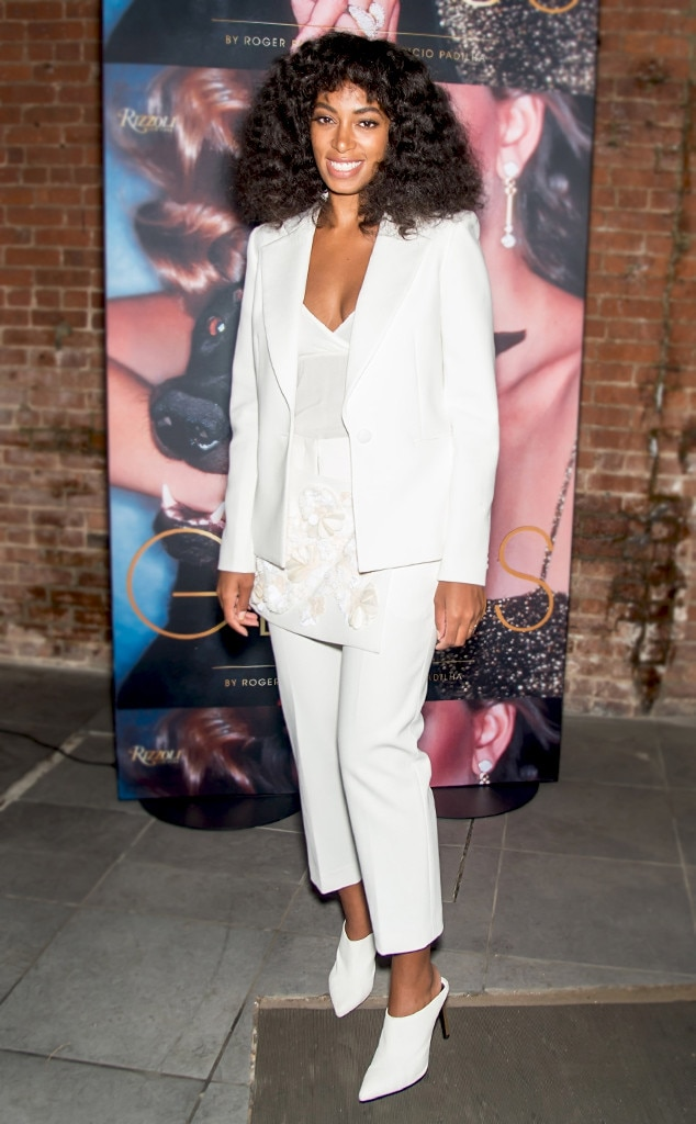 Solange Knowles From Mules Slide Into These Cool Girl Shoes E News