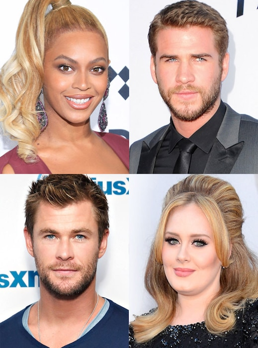Beyonce, Adele, Chris Hemsworth, Liam Hemsworth, Lip Sync Battle
