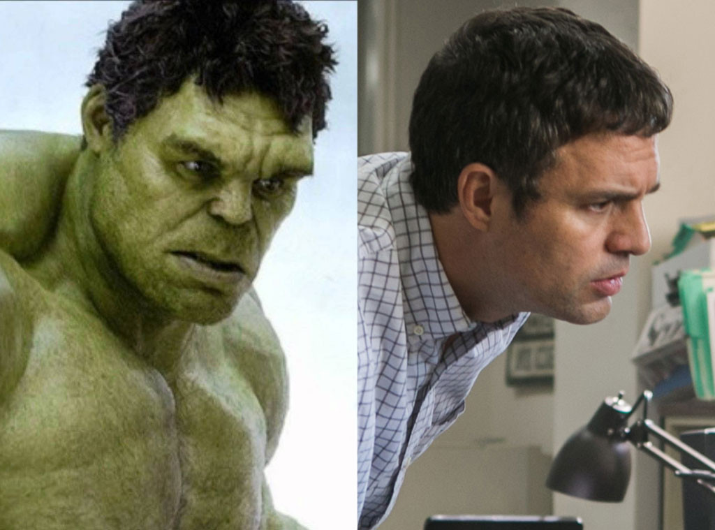 Oscar Nominees Forever Known For Other Roles, Mark Ruffalo