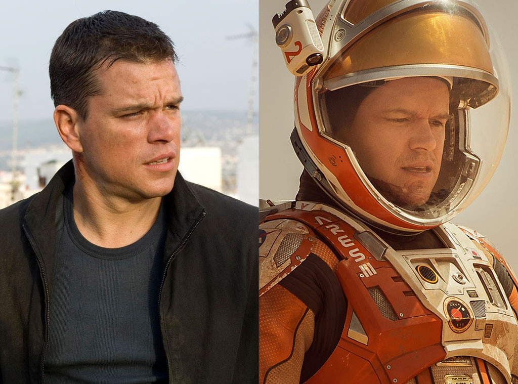 Oscar Nominees Forever Known For Other Roles, Matt Damon