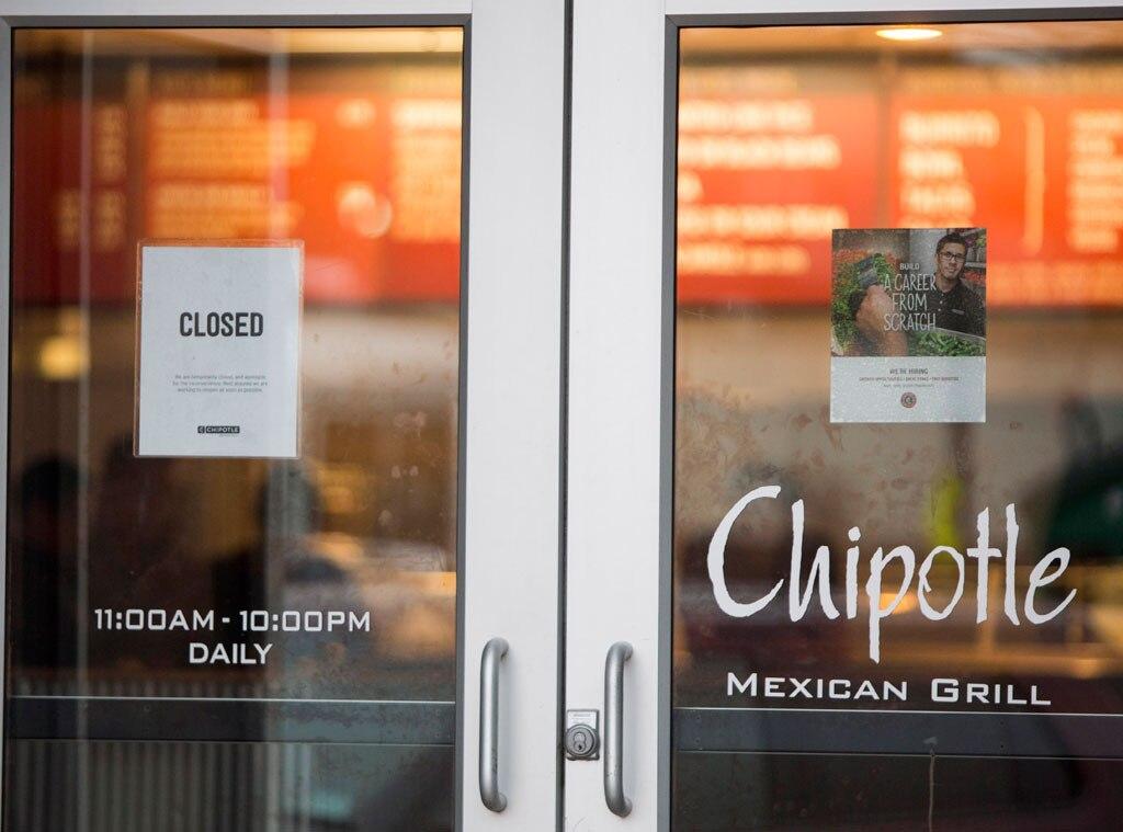 Chipotle Closed