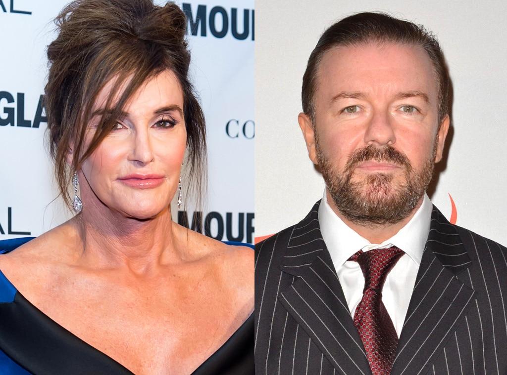 Caitlyn Jenner, Ricky Gervais