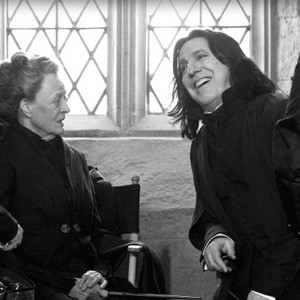 Alan Rickman, Maggie Smith, Harry Potter, Twitter