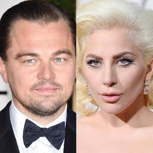 Lady Gaga, Leonardo DiCaprio, Golden Globes
