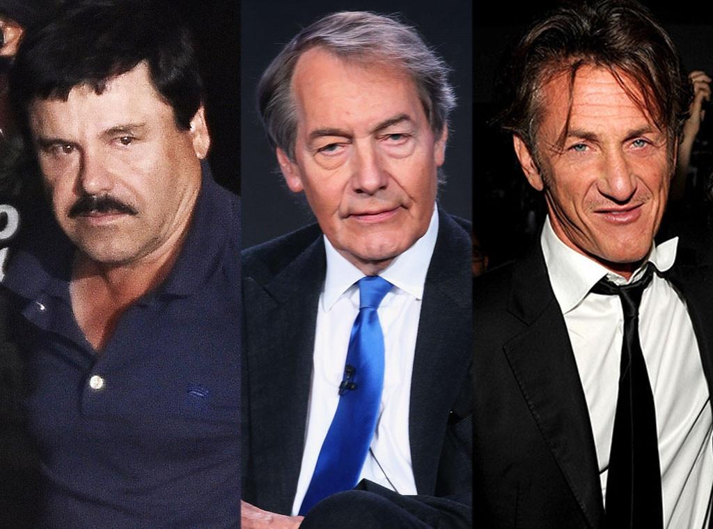 El Chapo, Charlie Rose, Sean Penn