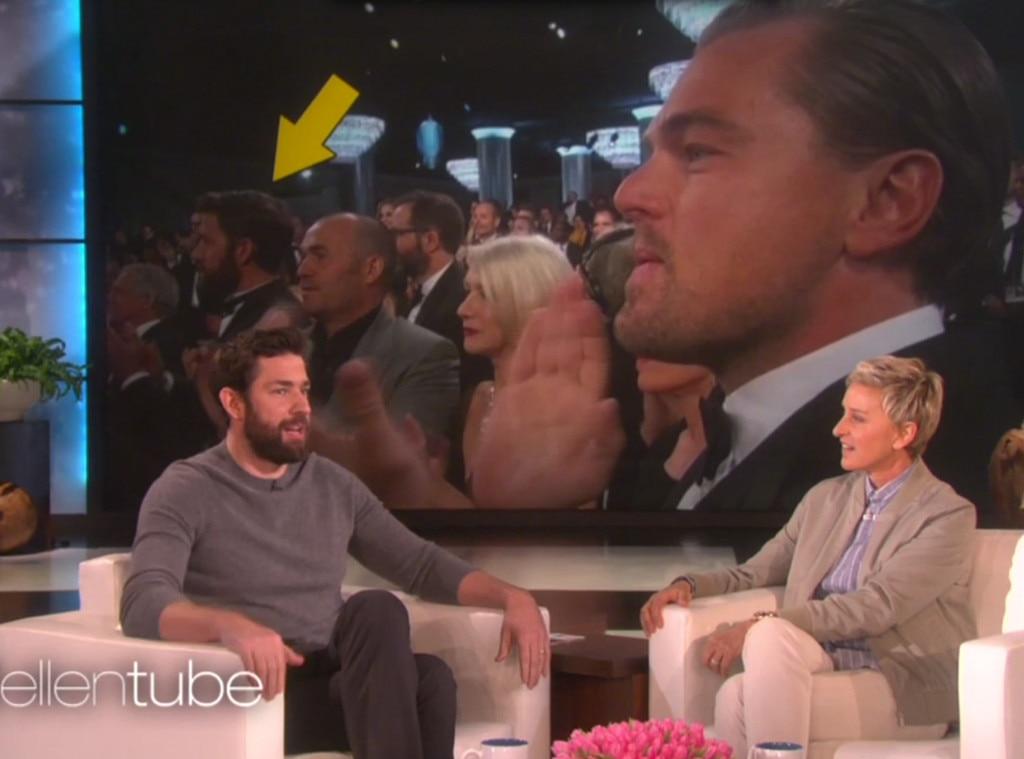 John Krasinski, Leonardo DiCaprio