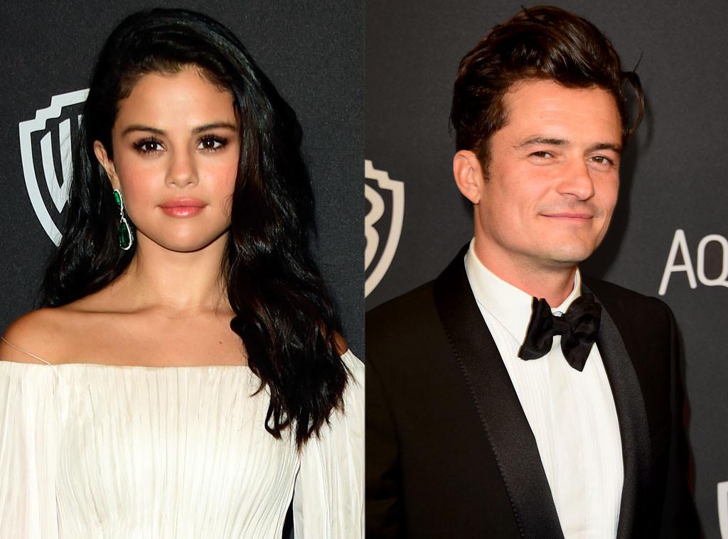 Selena Gomez, Orlando Bloom