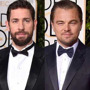 John Krasinski, Leonardo DiCaprio, Golden Globe Awards