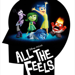 Inside Out Fake Movie Poster, All the Feels