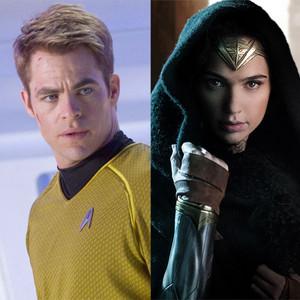 Chris Pine, Star Trek, Gal Gadot, Wonder Woman