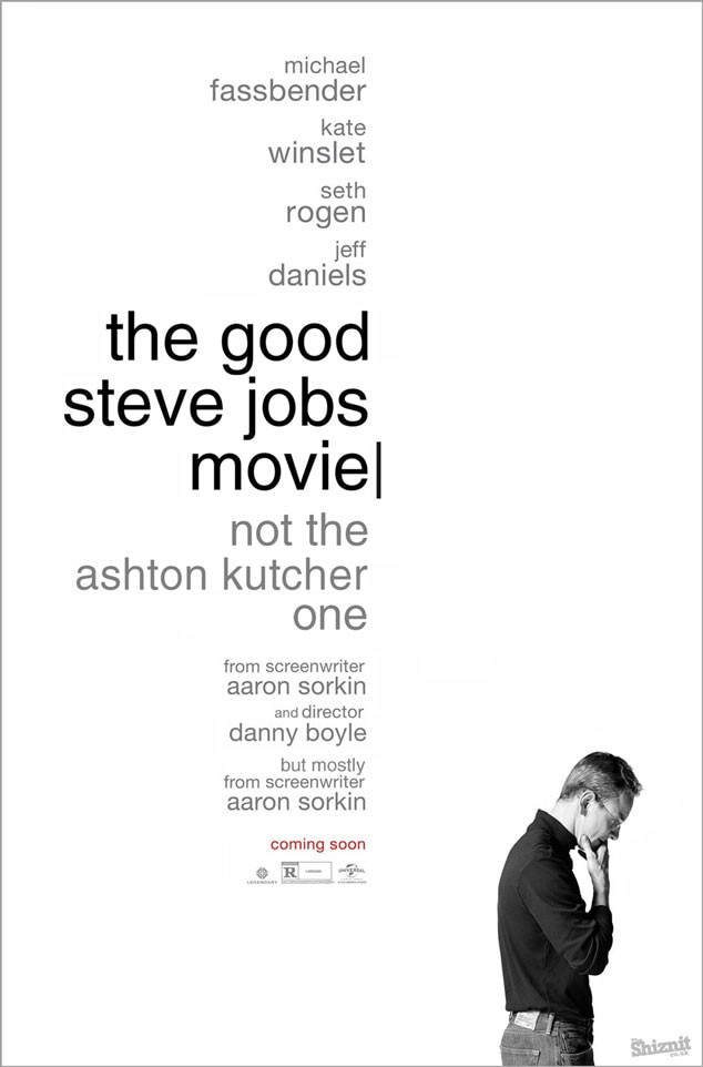 Steve Jobs Fake Movie Poster, The Good Steve Jobs Movie