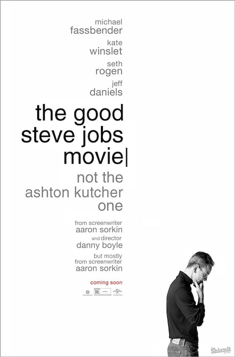Steve Jobs Fake Movie Poster, The Good Steve Jobs Movie