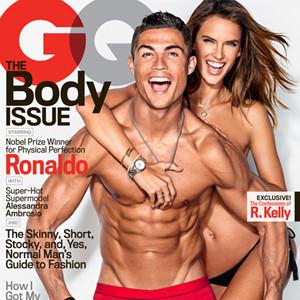 Alessandra Ambrosio, Cristiano Ronaldo, GQ