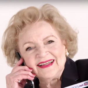 Betty White, NFL Bandwagon.net Ad