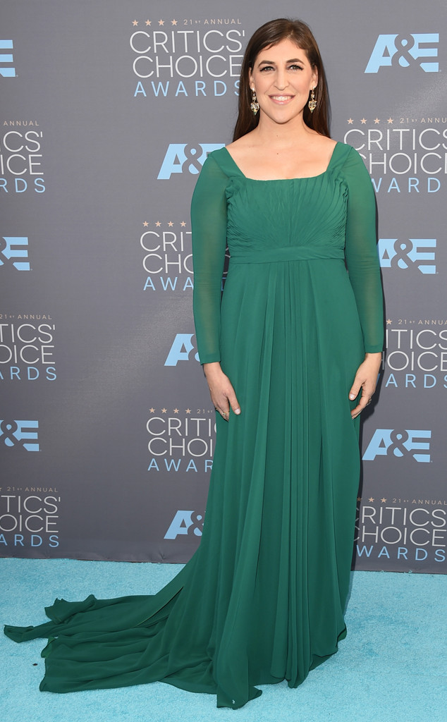 Mayim Bialik, Critics Choice Awards