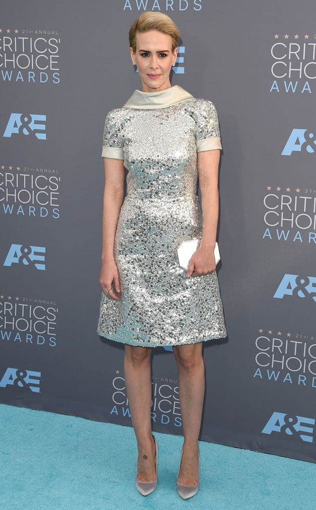 Sarah Paulson, Critics Choice Awards