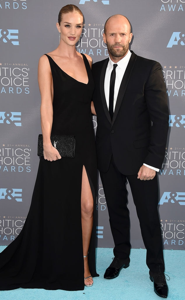 Rosie Huntington-Whiteley, Jason Statham, Critics Choice Awards