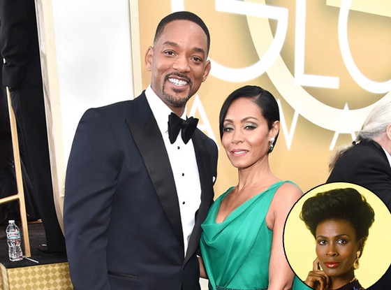 Will Smith, Jada Pinkett Smith, Janet Hubert