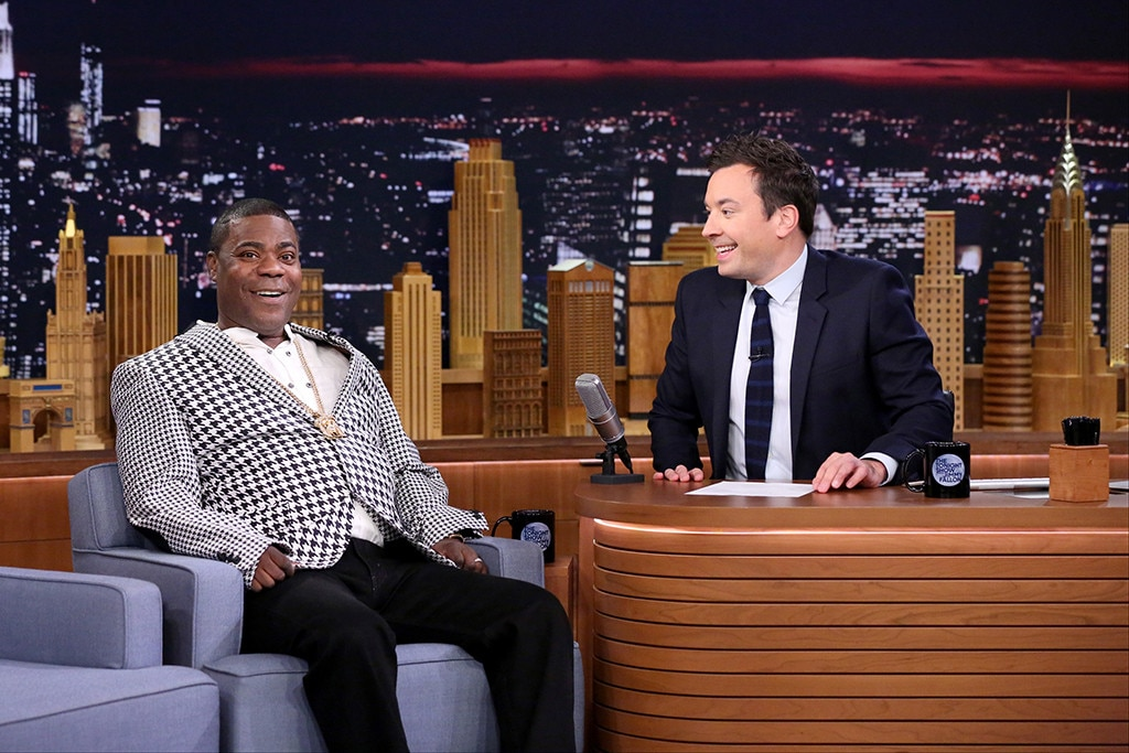 Tracy Morgan, Jimmy Fallon, The Tonight Show