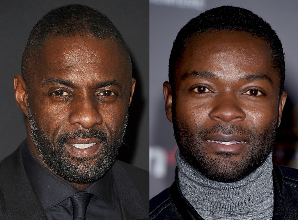 Idris Elba, David Oyelowo arrives